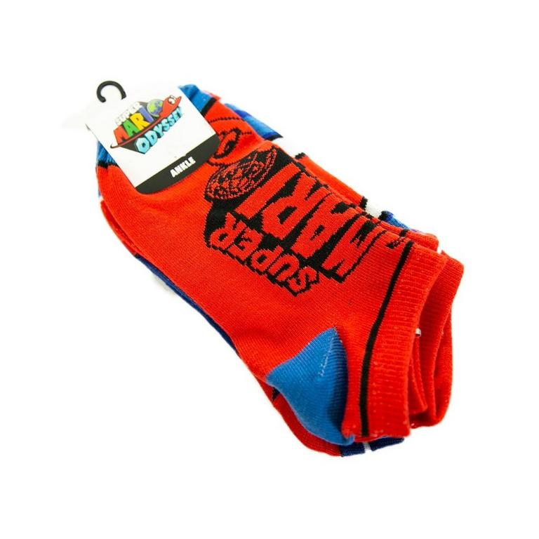 Super Mario Odyssey Logo Socks