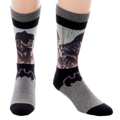 Batman Panel Socks