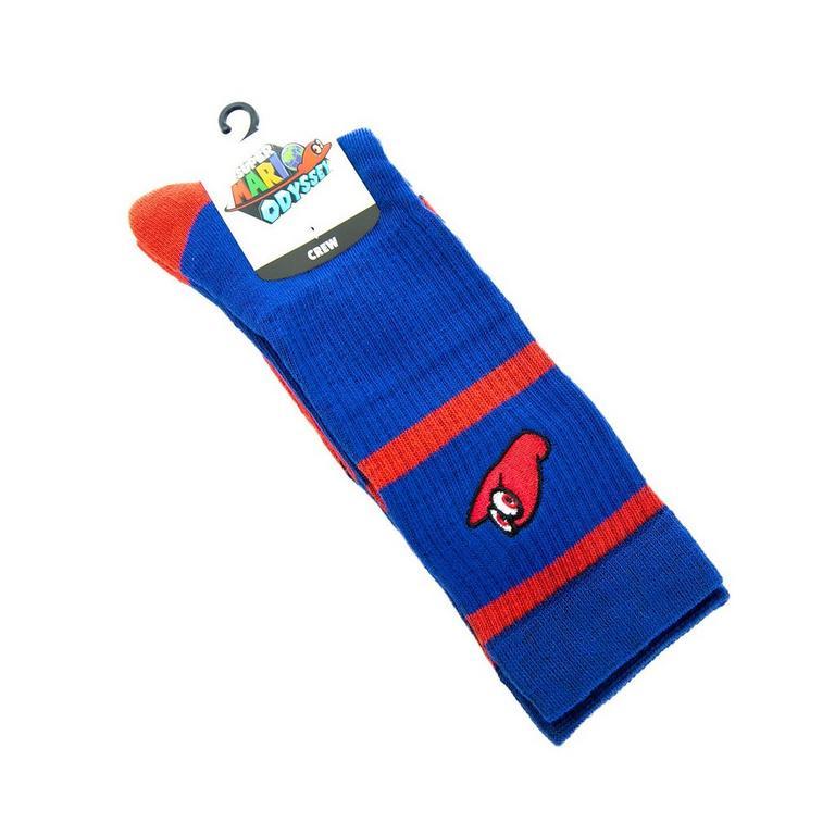 Super Mario Bros. Cappy Crew Socks