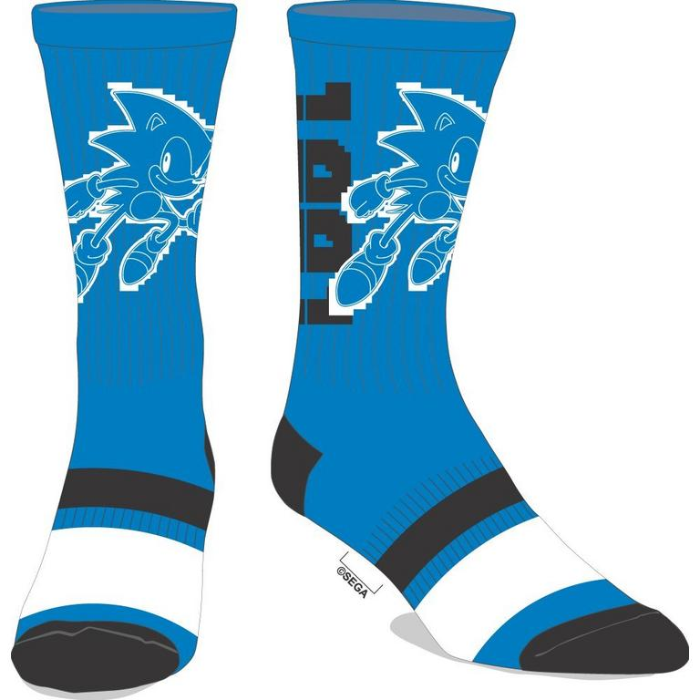 Sonic Athletic Socks