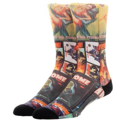 Fallout Magazines Socks