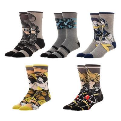 Kingdom Hearts Socks 5 Pack