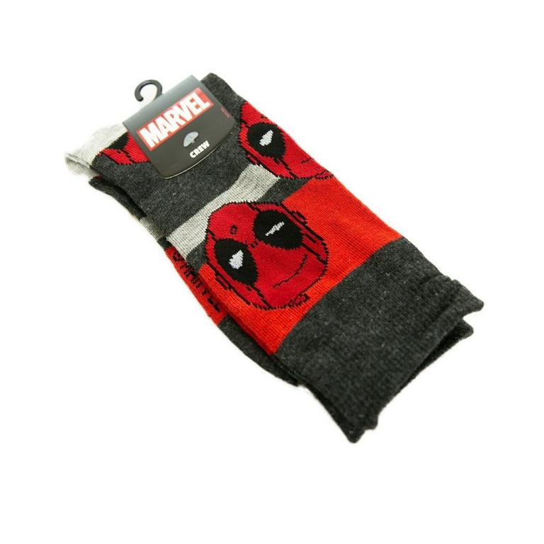 Deadpool Mask Crew Socks