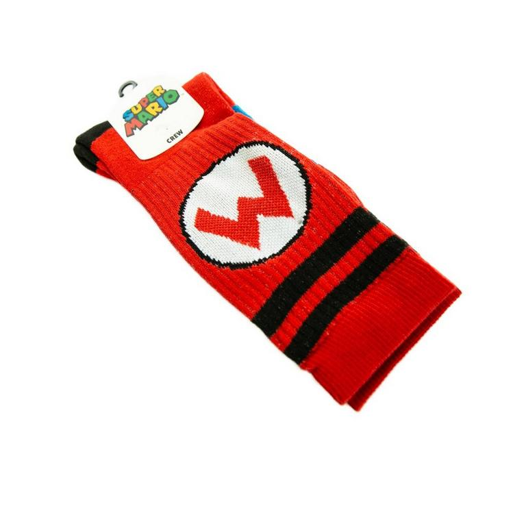 Super Mario Bros. Athletic Stripe Socks