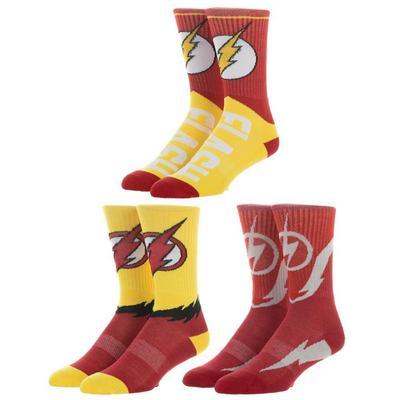 The Flash Socks 3 Pairs