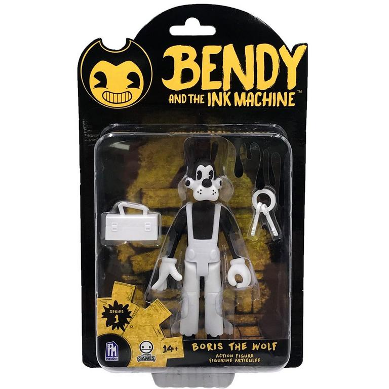 Bendy and the Ink Machine Boris The Wolf Action Figure
