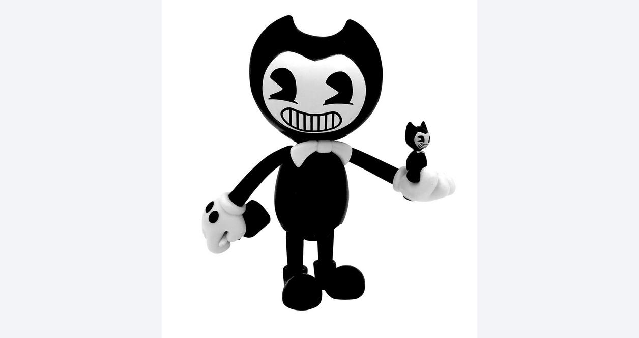 Bendy and the Ink Machine: 5 Inch Bendy Action Figure