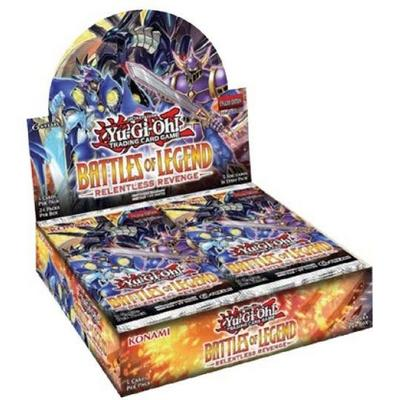 Yu-Gi-Oh! Battle of Legend Relentless Revenge Booster Box