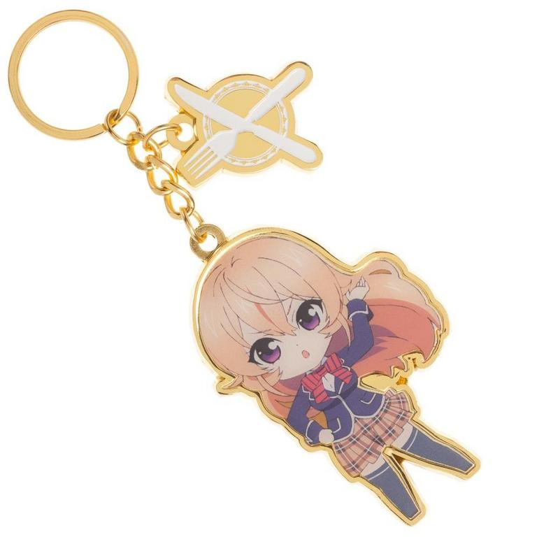 Food Wars! Charm Key Chain