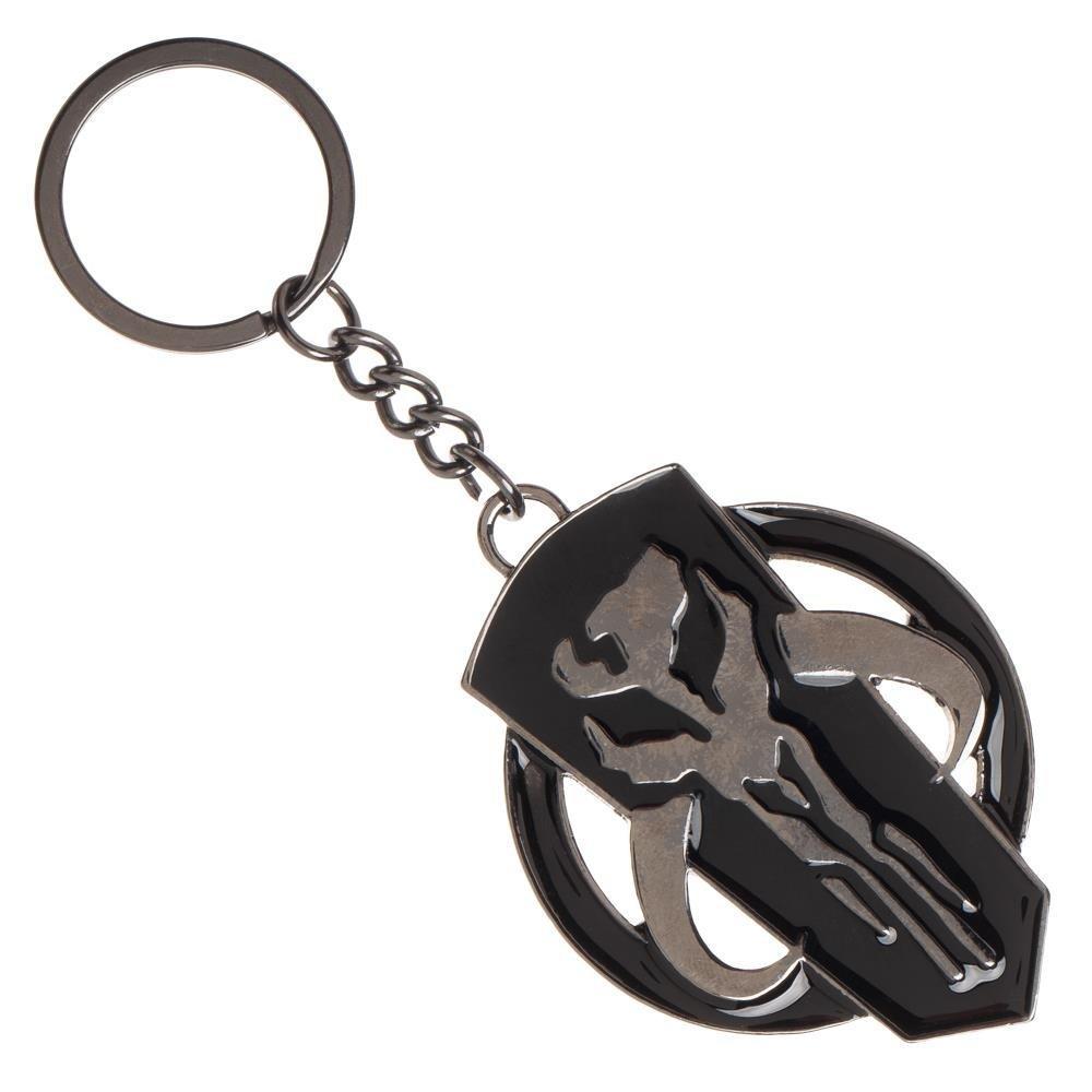 Star Wars Mandalorian Symbol Steel Key Chain