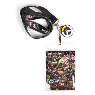 Overwatch Super Team Lanyard