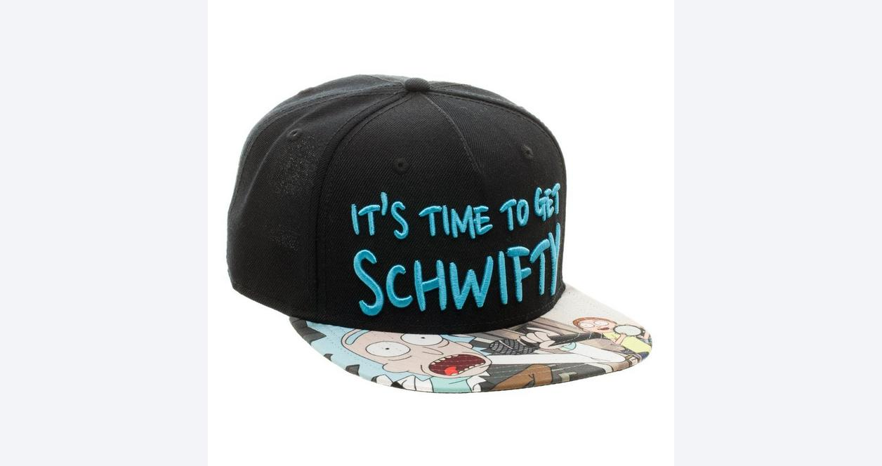 Rick and Morty Get Schwifty Baseball Cap