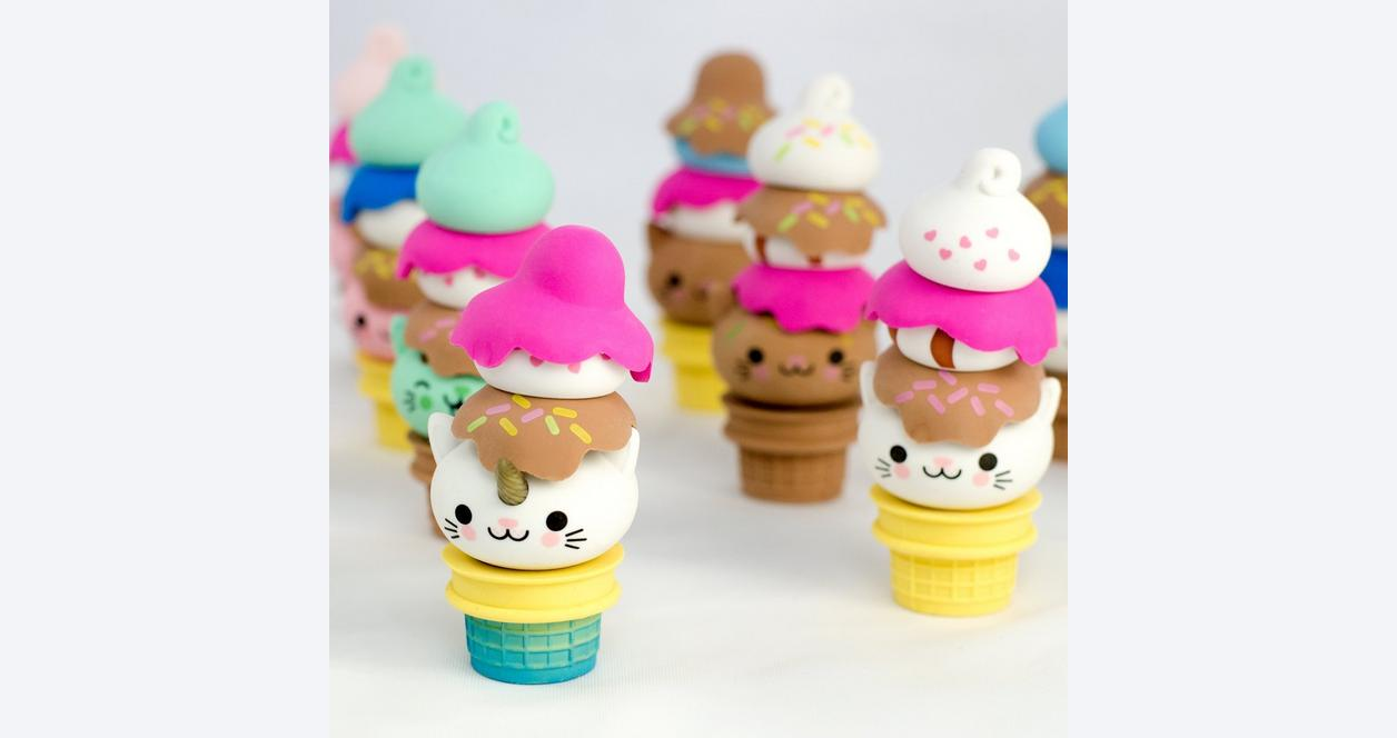 Kitty Cones Eraser Blind Box (Assortment)