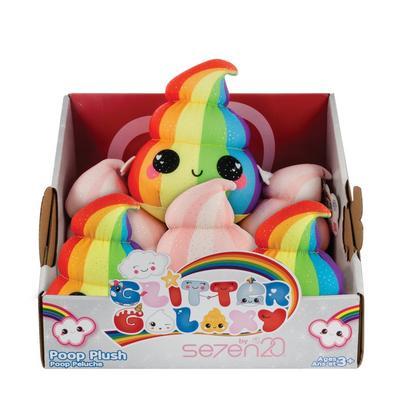 Unicorn Glitter Poop Plush (Assortment)