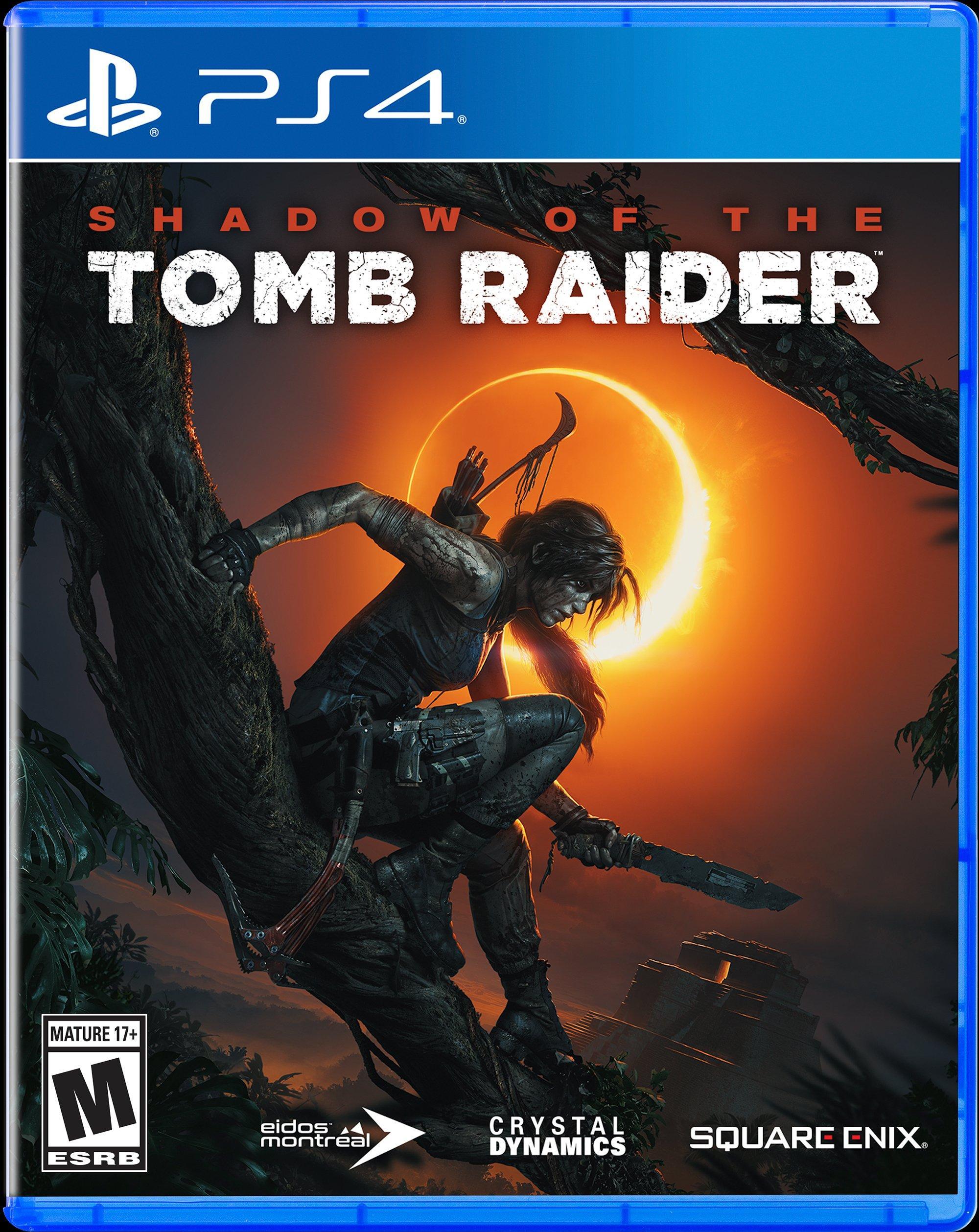 Shadow Of The Tomb Raider Playstation 4 Gamestop