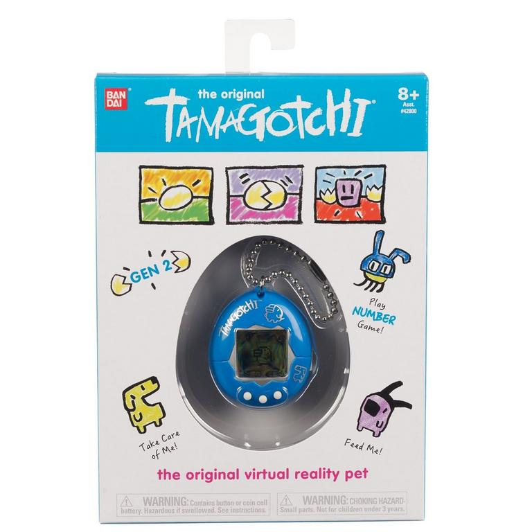 The Original Tamagotchi Blue Silver