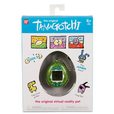 The Original Tamagotchi Green Glitter