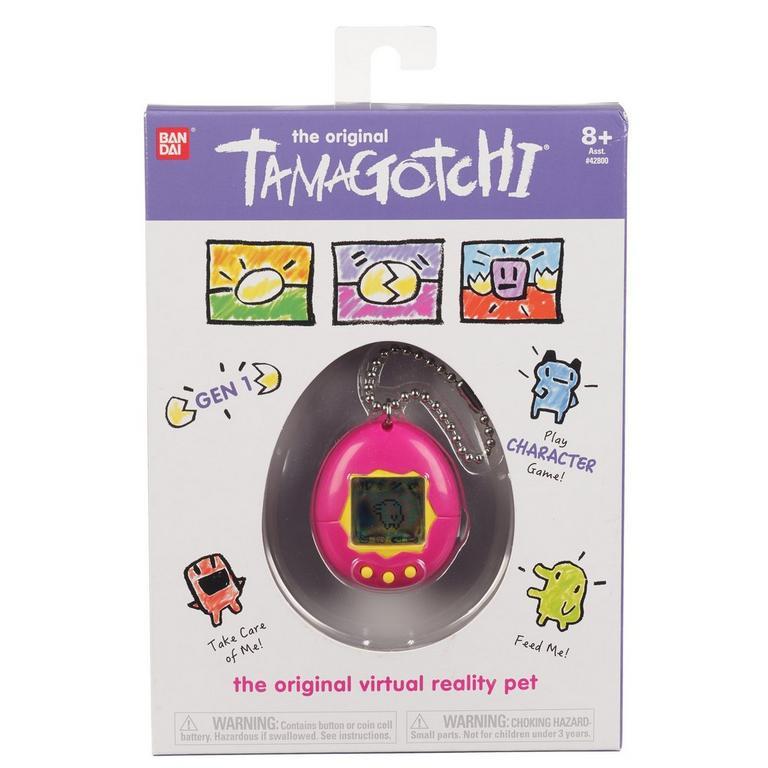 The Original Tamagotchi Pink Yellow