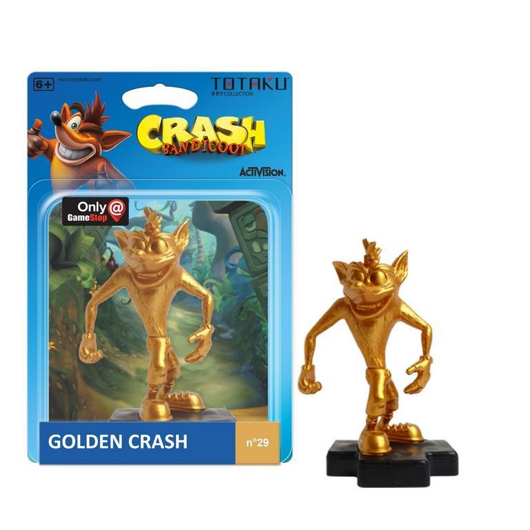 TOTAKU Collection: Crash Bandicoot Golden Edition Figure - Only at GameStop