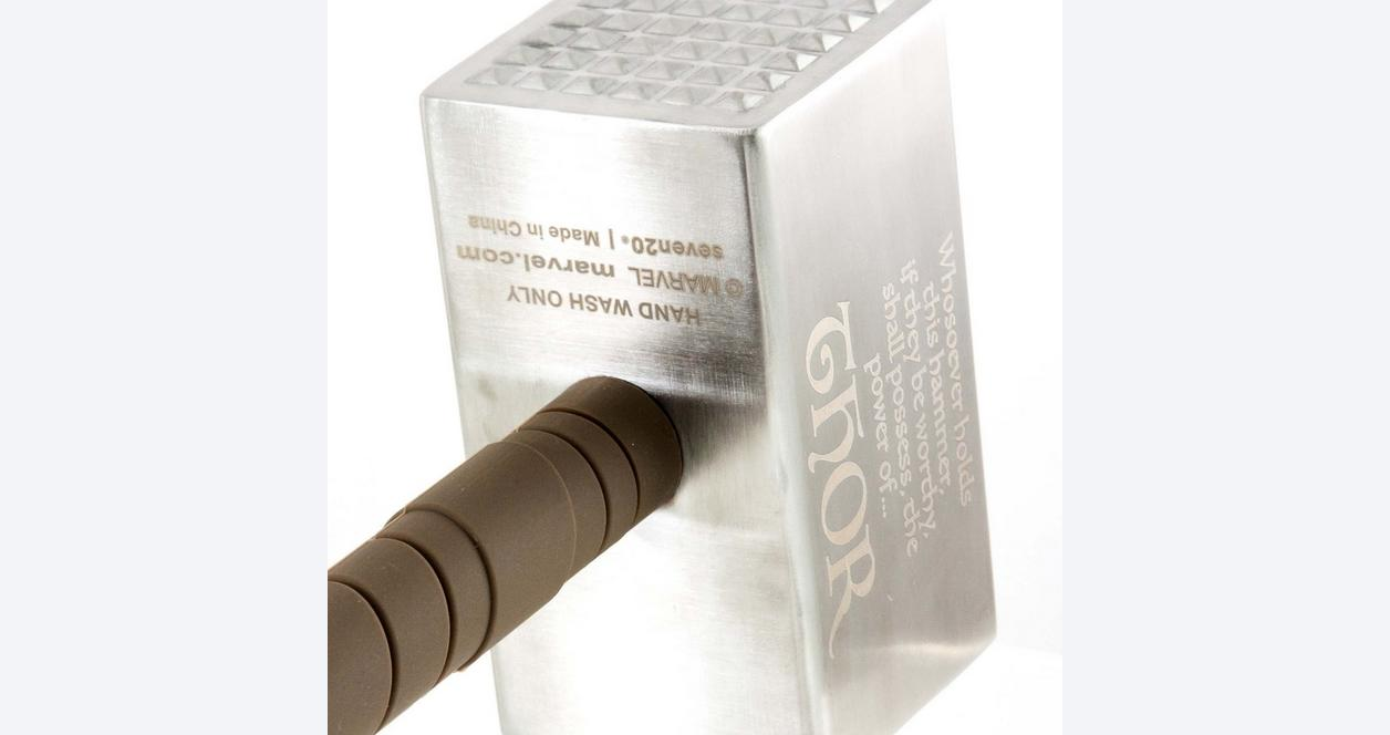 Thor Mjolnir Meat Tenderizer with Base Summer Convention 2018