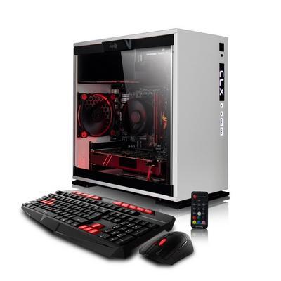 CLX SET GXE7602A Gaming Desktop