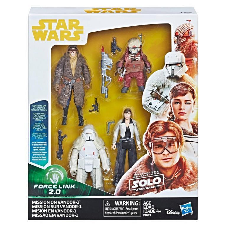 Star Wars Force Link 2.0 Mission on Vandor-1 3.75 inch Figure 4 Pack