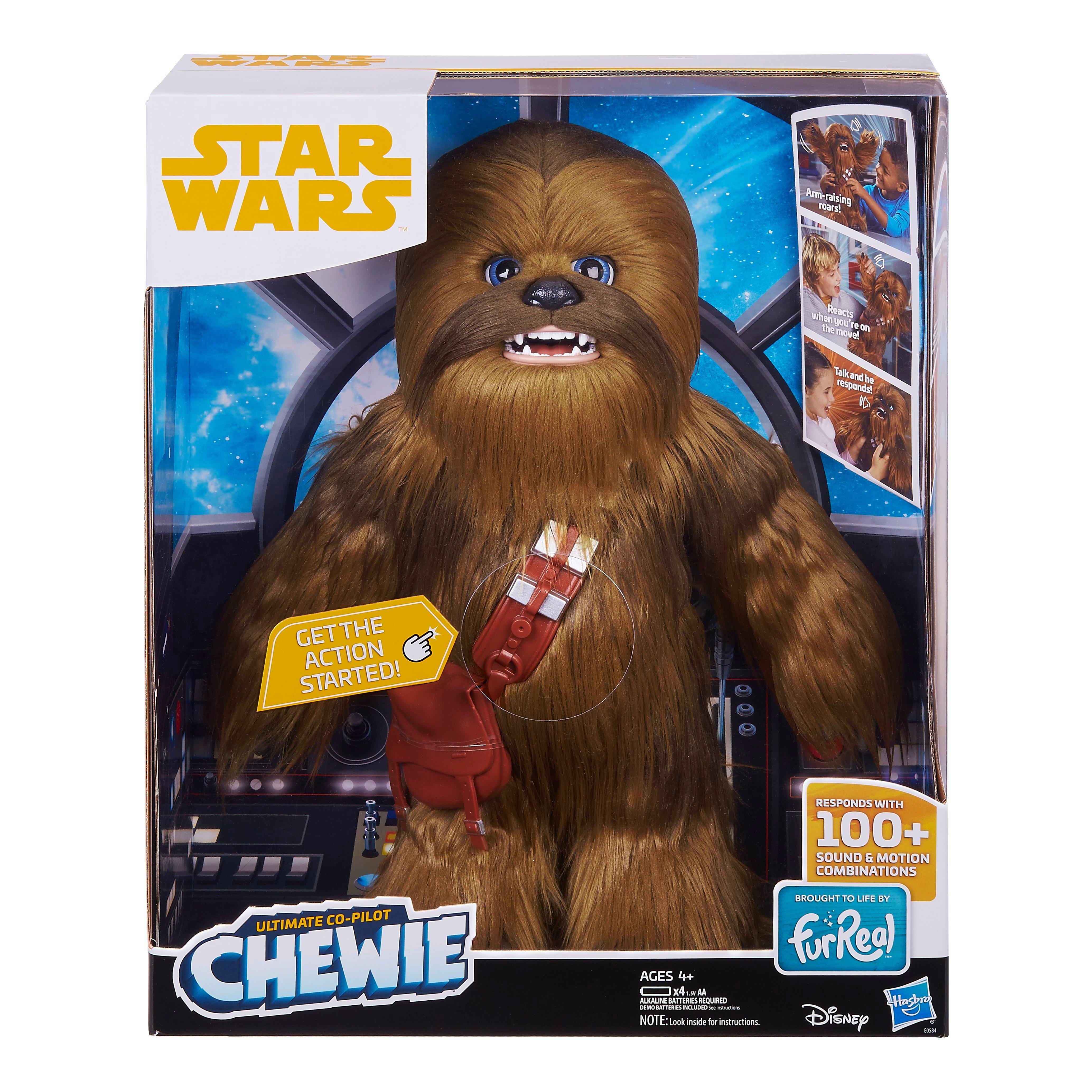 Chewie Star Wars Toy Ultimate Co-pilot