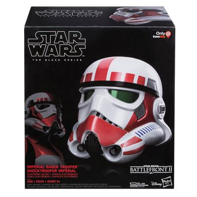 Star Wars The Black Series Shock Trooper Electronic Helmet - Only at GameStop