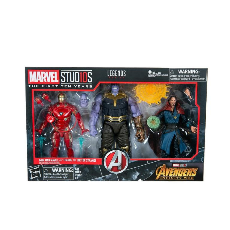 Marvel Studios: The First Ten Years Avengers: Infinity War Figure 3 Pack