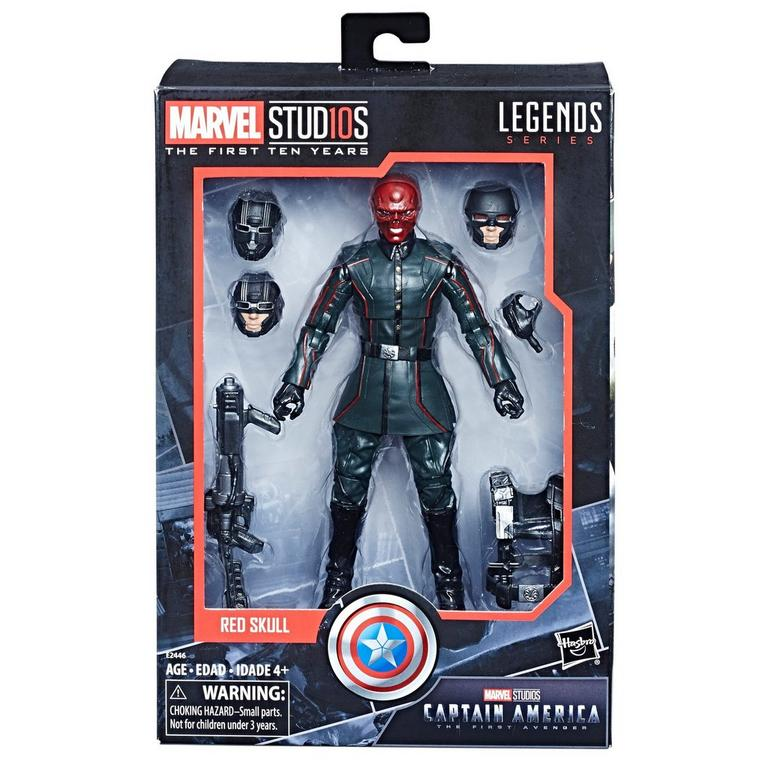 Marvel Studios: The First Ten Years Legends Series Captain America Red Skull Action Figure