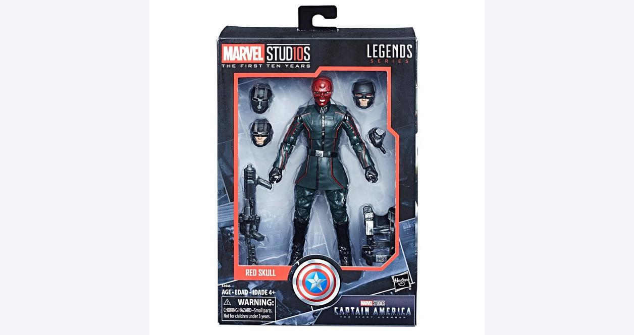 "Marvel Legends Studio 1st 10 ans Hydra Red Skull Loose 6/"" Figurine Hasbro"