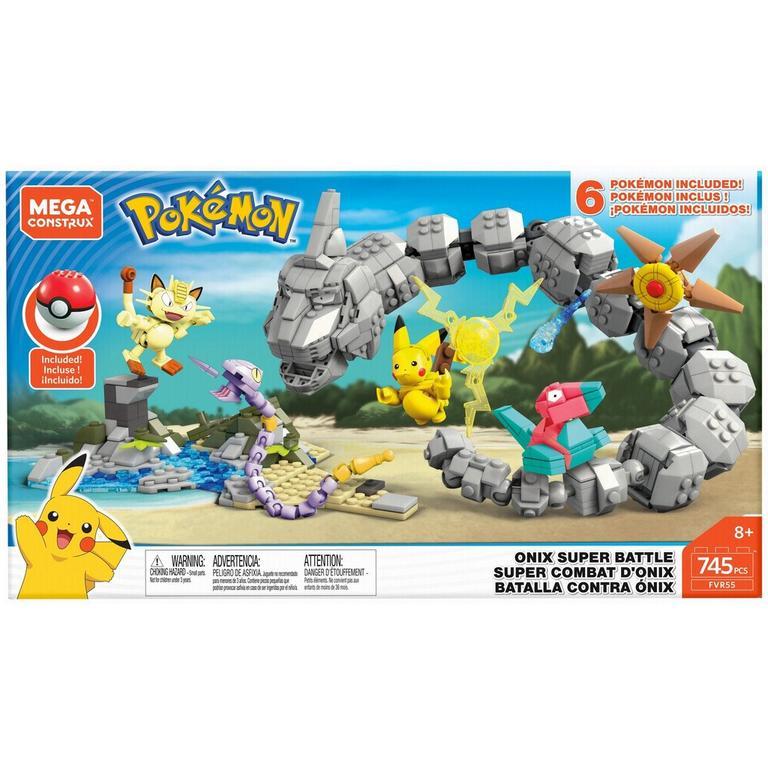 Mega Construx Pokemon Onix Super Battle - Only at GameStop