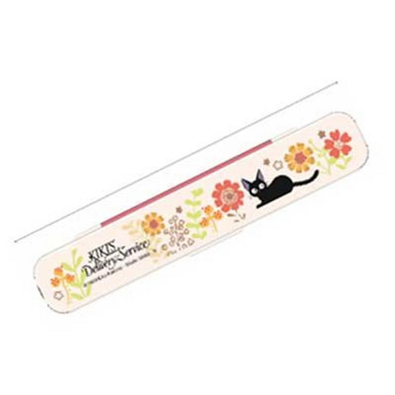 Kiki's Delivery Service Jiji and Flower Bento 3-in-1 Utensil Set and Carrier