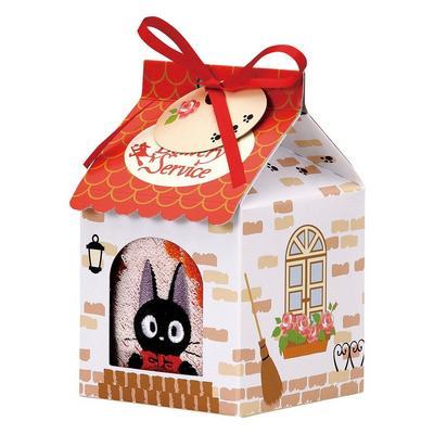 Marushin Jiji Mini Towel in House-shaped Gift Box Towel Set