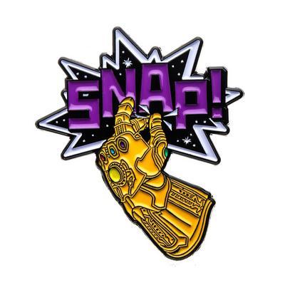 Avengers Infinity Gaunlet Snap Pin