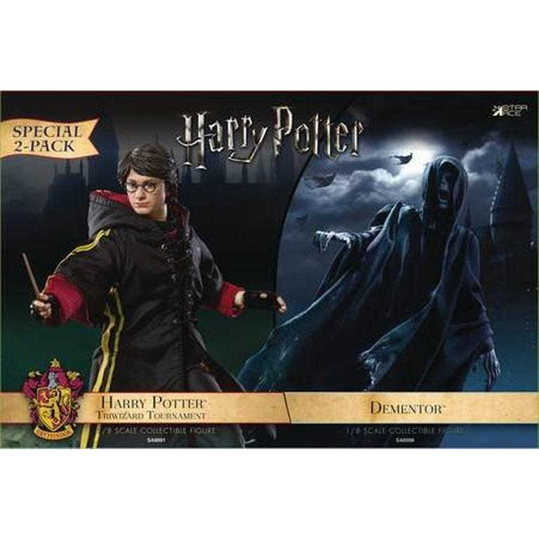 Harry Potter and The Goblet of Fire - 1/8 Scale Harry Potter and Dementor Figure 2 Pack