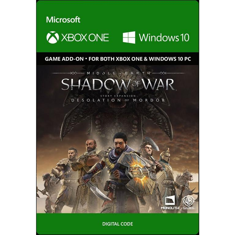 MIddle-earth: Shadow of War - Desolation of Mordor Expansion
