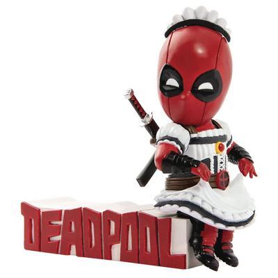 Marvel Comics Deadpool Servant PREVIEWS Exclusive Mini Egg Attack Figure