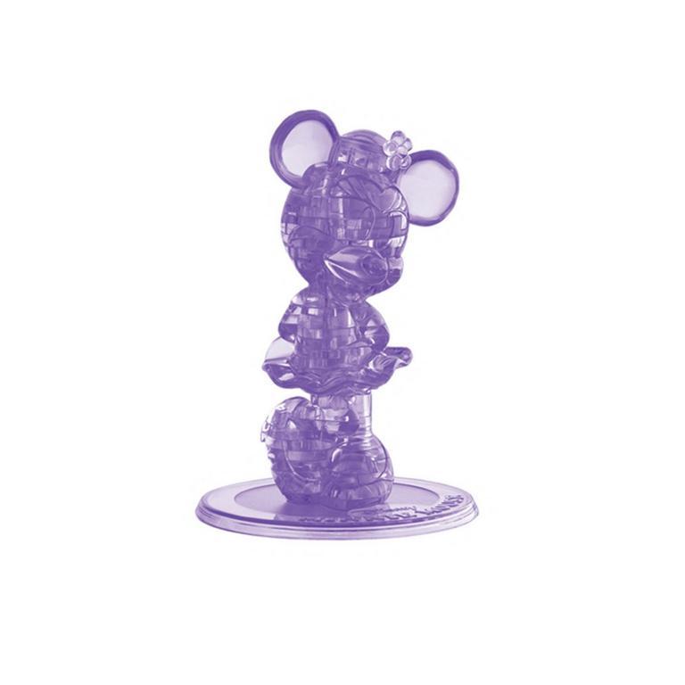 Disney Minnie Mouse Purple Crystal Puzzle