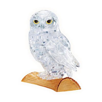 Crystal White Owl Puzzle
