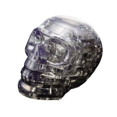 Crystal Black Skull Puzzle