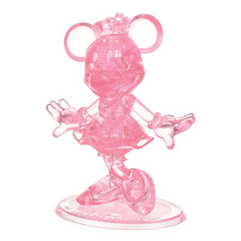 Disney Minnie Mouse Pink Crystal Puzzle