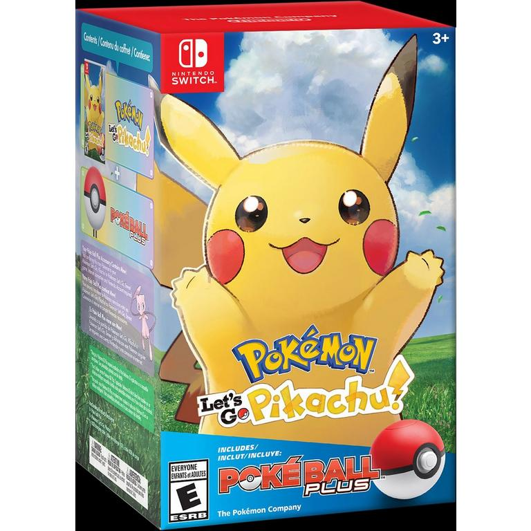 Pokemon: Let's Go Pikachu! and Poke Ball Plus Pack