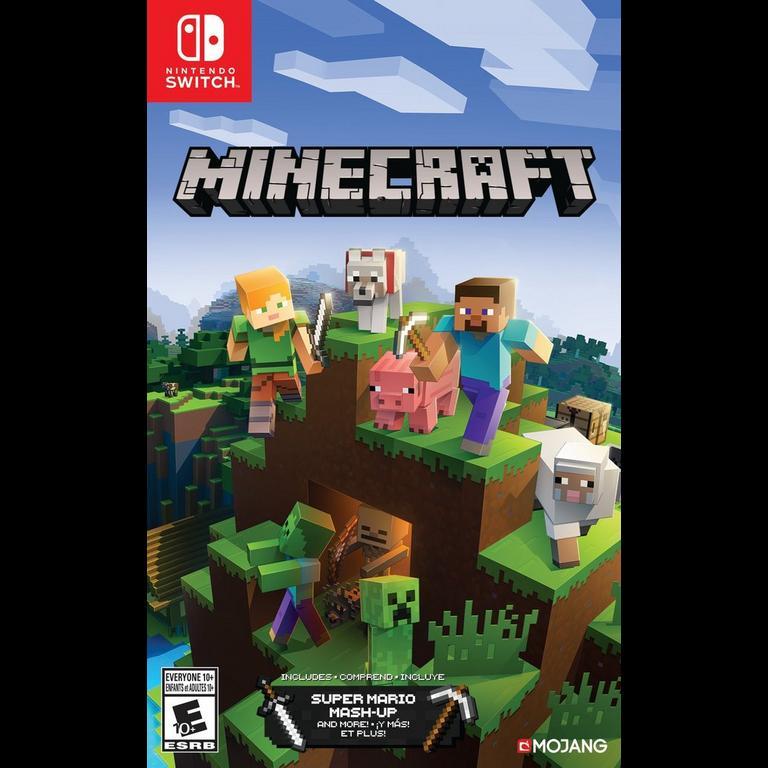 Minecraft Nintendo Switch Gamestop