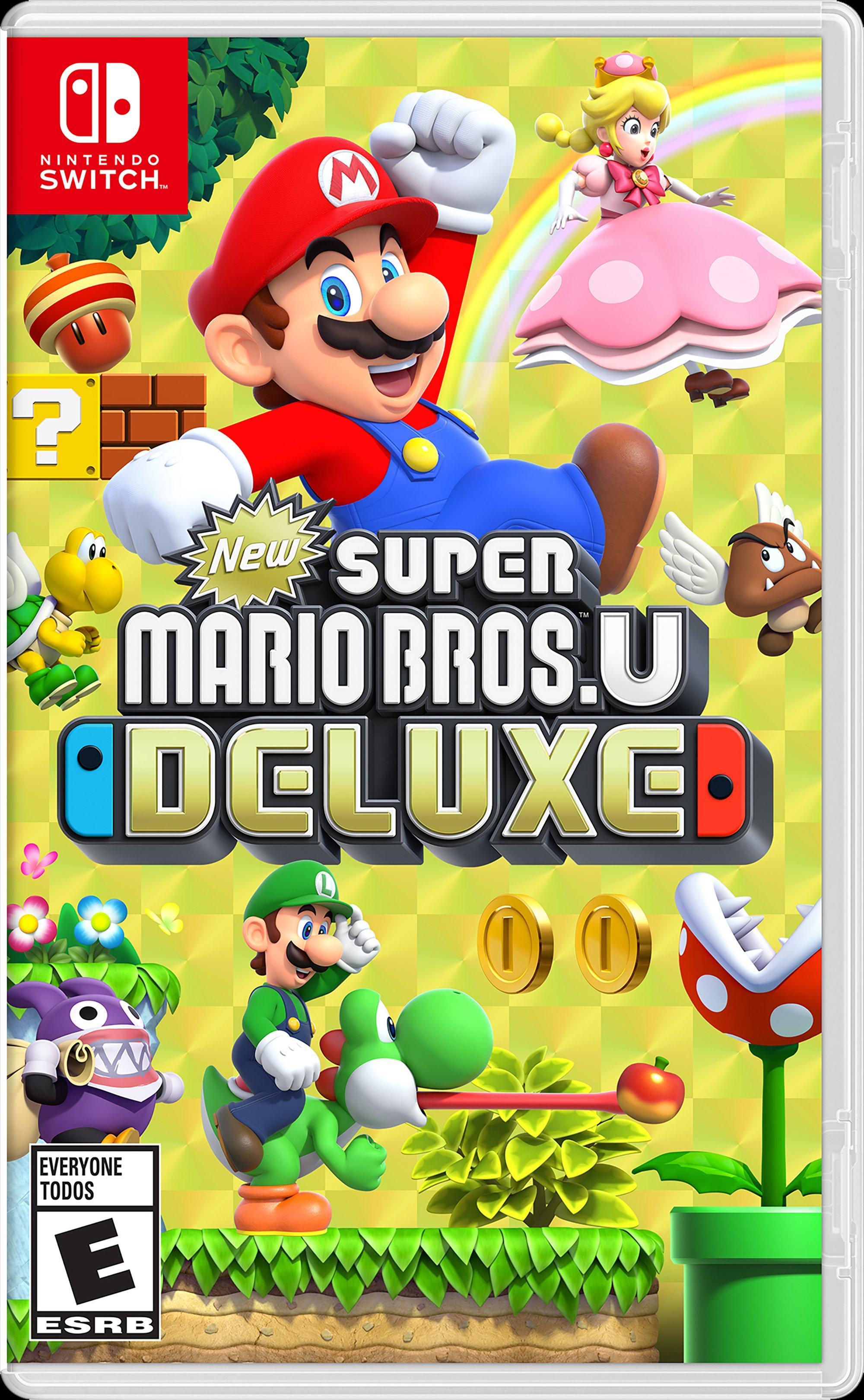 New Super Mario Bros U Deluxe | Nintendo Switch | GameStop
