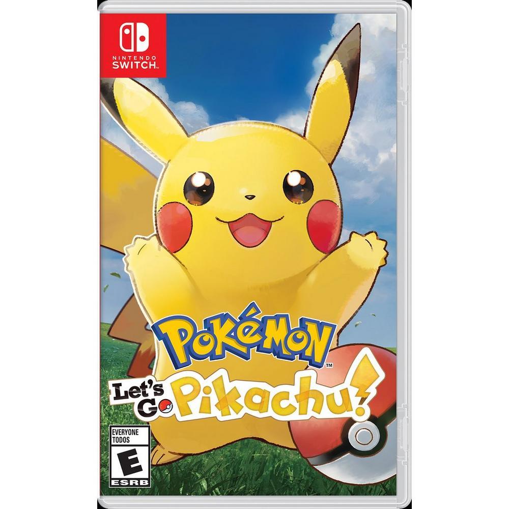Pokemon: Let's Go, Pikachu!   Nintendo Switch   GameStop