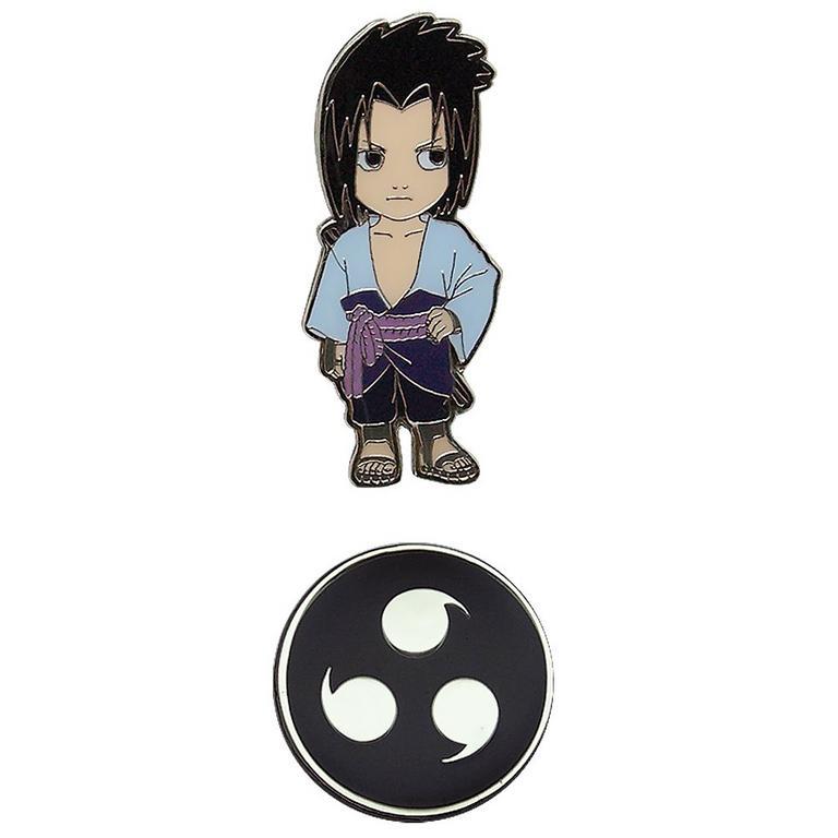 Naruto Shippuden Sasuke Pin 2 Pack