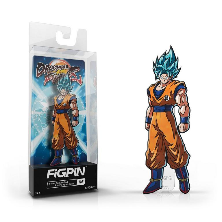 Dragon Ball FighterZ Super Saiyan God Super Sayian Goku FiGPiN