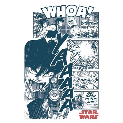 Star Wars Han Solo Manga T-Shirt