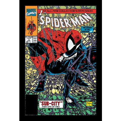 Marvel Spider-Man Split Cover T-Shirt